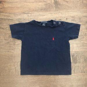 Ralph Lauren short sleeve shirt size 6-12M